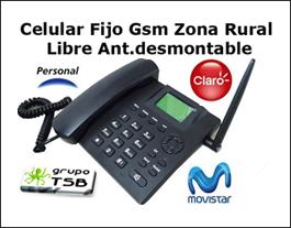 Celular Gsm De Mesa Zona Rural Libre