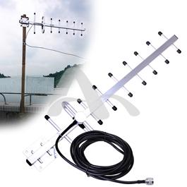 Antena Yagi Gsm Exterior 13 Dbi. 854 ~ 960 Mhz +/- Con 10 M