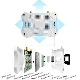 Repetidor Amplificador telefonia celular con pantalla LCD  3G/4G