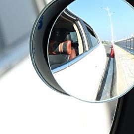 Espejo Convexo Autoadhesivo Amplia Visión Puntos Ciegos