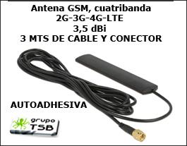 Antena 3g-4g-lte Mejor Recepción Kit Conector Crc9-rpsm