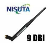 Antena Wireless Para Potenciar Tu Señal 9 Dbi 2,4 GHz. indoor Omnidireccional