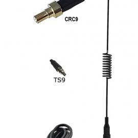 Antena GSM 3 mts. De cable, magnética 6 dBi, con contector CRC9 o TS9